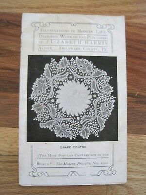Illustrations of Lace by Elis Harris Nov 1902