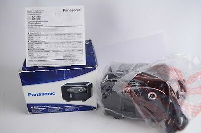 Panasonic KP-310 Electric Pencil Sharpener Auto-stop Black Tested and WORKS 100%