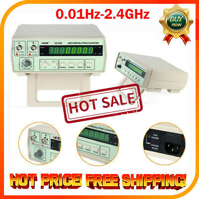 VC3165 Radio Frequency Counter RF Meter 0.01Hz ~ 2.4GHz Professional Tester FK