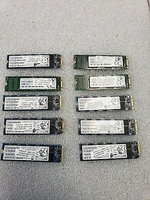 Lot of 10 HP 128Gb M.2 SATA SSD Solid State Drive 935495-001 2018 MANY COMPAGNY