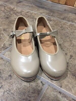 Bloch Tan Tap Shoes Girls Toddler Used Size 11