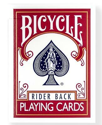 Bicycle® Rider Back Playing Cards Red