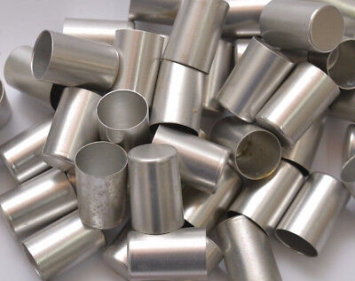 Lot of 20 ALUMINUM BUTT CAPS FOR ROD BUILDING Vintage stock from the 70's