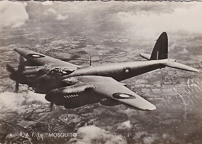 Cp186  Aviation R. A. F.  Mosquito