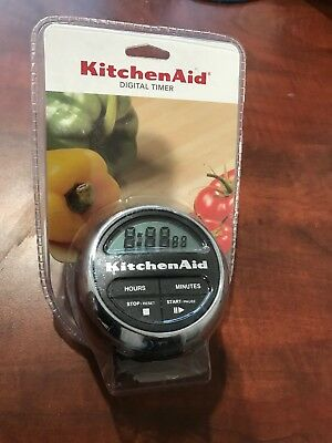 New Kitchen Digital Timer, Black - Sealed Free Shipping!!!