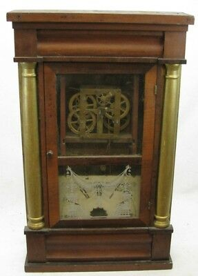Antique Seth Thomas Og Weight Driven Clock Parts Repair
