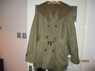 US Mackinaw Jeep Coat by K Canvas - military, WW2, American, Army, Vintage, LRG