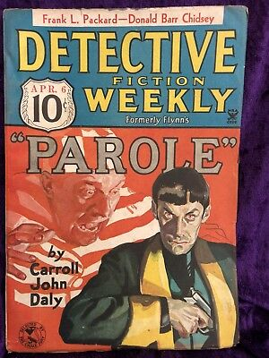 Detective Fiction Weekly Pulp