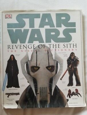 STAR WARS Revenge of the Sith DK Book The Visual Dictionary 2005 Hardcover G3