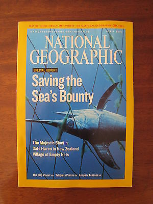National Geographic Magazine - April 2007