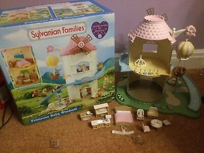 Sylvanian Families Primrose Baby Windmill Set with Accessories OB Flair 4970