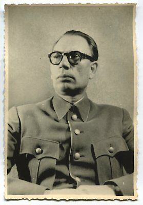 German Wwii Photo From Archive: Collaborationist Russian General Andrey Vlasov