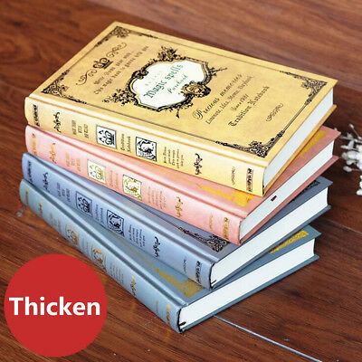 Retro Thicken A5 Diary Business Notebook School Study Diary Journal Gift