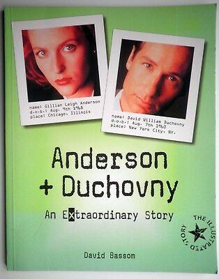 X-Files Anderson + Duchovny An extraordinary Story The Ilustrated Story BOOK!