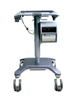 Ge Isolation Cart W/ Sony Digital Printer And Dvd Recorder