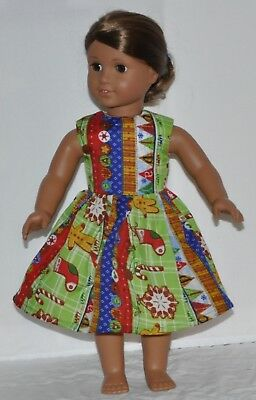 Cute Christmas Doll Dress Clothes Fits American Girl Dolls