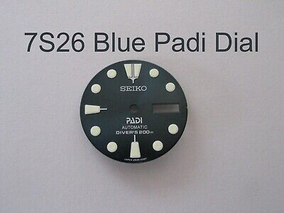 New PADI  X DIAL  made for SEIKO Diver 7S26-0020 Automatic
