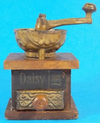 Antique Mini Spice or Coffee Hand Grinder Daisy 867 Cute!