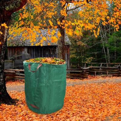 CO_ 272L Garden Waste Bag Leaves Grass Bin Reusable Waterproof Storage Container