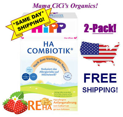 *FREE EXPEDITED SHIP* 2 BOXES HiPP Combiotic HA PRE Hypoallergenic First Infant