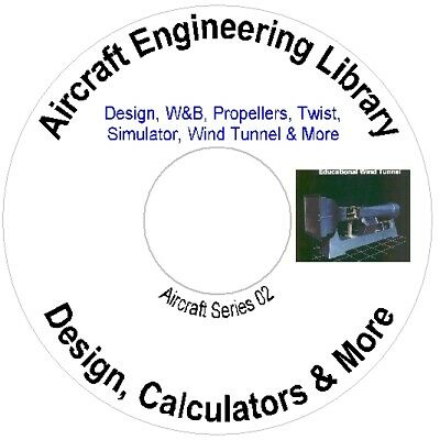 Aircraft Engineering Library, Wind Tunnel Design Calculators & More