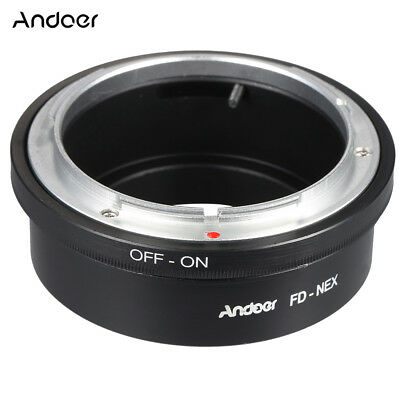 Andoer FD-NEX Adapter Ring Lens Mount for Canon FD Lens to Fit for Sony NEX E Mo