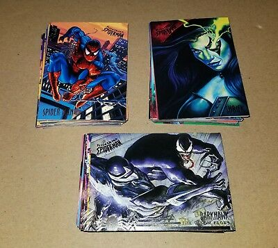 1995 Marvel Fleer Ultra Spider-Man Complete Set 1-150 Carnage Venom Marvel Cards