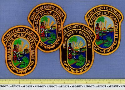 MIAMI METRO DADE COUNTY POLICE PATCH COLLECTION FLORIDA Sheriff Police Patch