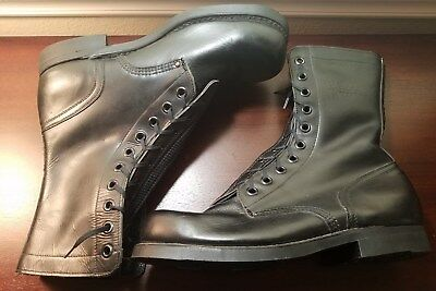 Panama Defense Forces Marked Size 10 1/2 Combat Boots In New Old Stock Condition