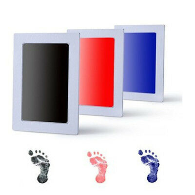 Baby Safe Inkless Touch Footprint Handprint Ink Pad Non Toxic Kits
