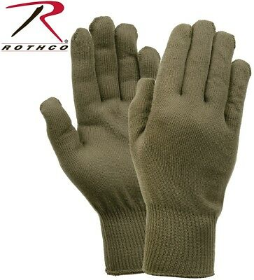 Olive Drab Green Military Issue Winter Polypropylene Glove Liners Rothco 8413