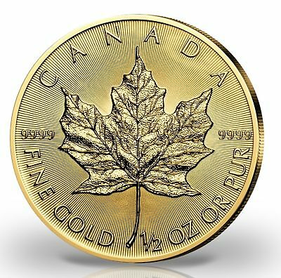 20 Dollar Canada 2018 BU - 0,5 OZ Gold Maple Leaf 2018