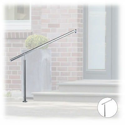 Stainless Steel Entryway Handrail and Baluster for In- and Outdoor Use