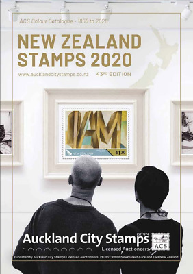 **Almost SOLD OUT** New Zealand Stamps 1855-2018 136pp ACS Colour Catalogue 2019