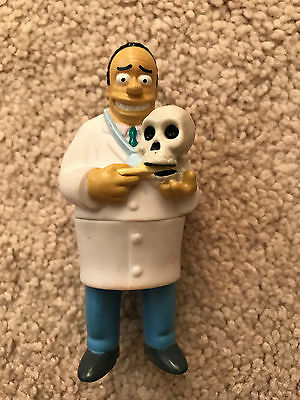 Dr. Julius Hibbert Toy from The Simpsons - Burger King 2001
