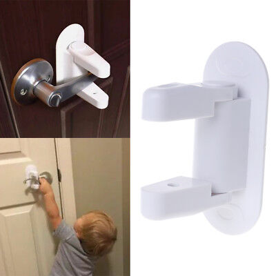 Newborn Baby Safety Lock Door Lever Home Kids Children Protection Doors Handle