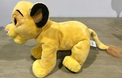 "20"" Disney Store Lion King Simba Pride Plush Stuffed Animal Soft Toy Foot Patch"