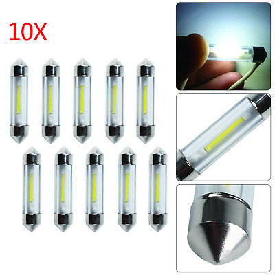 10x 38mm 39mm LED Soffitte COB SMD Canbus Innenraumbeleuchtung Deutsche Post