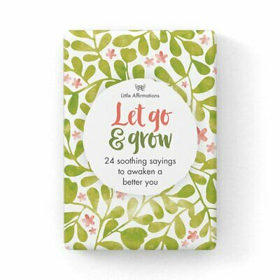 Let Go and Grow - Affirmation Card Set - Affirmation Card Sets, APHDLG