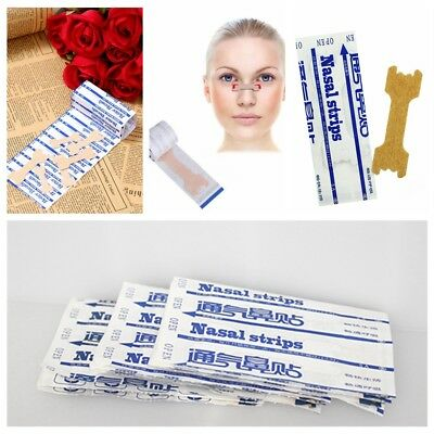100pcs Better Breath Nasal Strips Large Right Way to Stop Snore