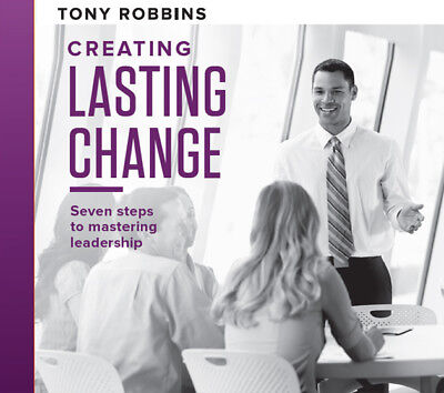 Anthony Tony Robbins Creating Lasting Change Course with FREE Bonus Course Incl.