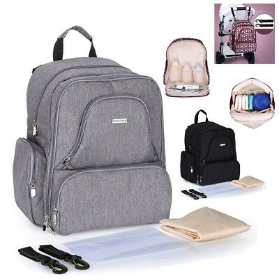 Hanging  Baby Newborn Diaper Nappy Bag Mummy Backpack Travel Changing Bags