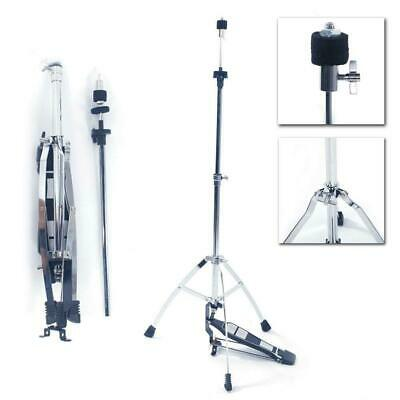 Double Braced Hi Hat Cymbal Drum Stand Hi-Hat Mount w/ Pedal