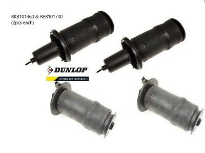Range Rover P38 Air Suspension Airbag Set - REB101740 (2pcs) & RKB101460 (2pcs)