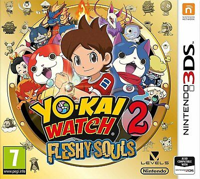 Yo-Kai Watch 2: Fleshy Souls (3DS)  NEW AND SEALED - IN STOCK - QUICK DISPATCH