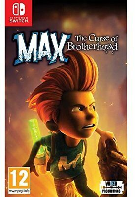 Max The Curse of Brotherhood (Switch)  BRAND NEW AND SEALED - QUICK DISPATCH