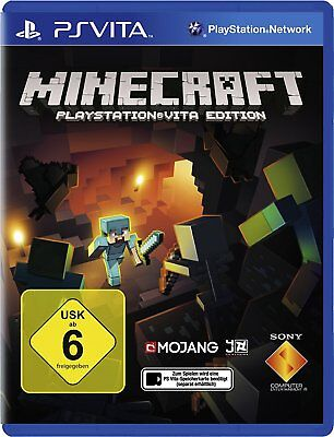 Minecraft Sony PSV PS Playstation VITA Spiel Game Edition Deutsche ware Neu OVP