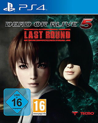 Dead or Alive 5 Last Round Sony PlayStation 4 PS4 DVD-Box Game Spiel Dt Ware N