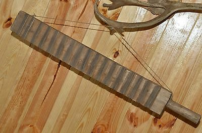100% ORIGINAL Antique Primitive Washing Machine 19 Century ! Russian Soviet Wood