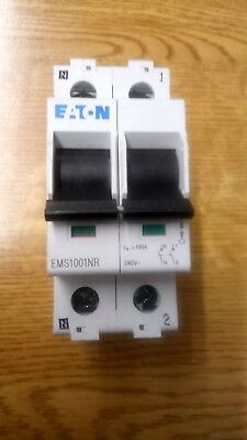 New Eaton Ems1001Nr 100 Amp Mainswitch Dp Isolator